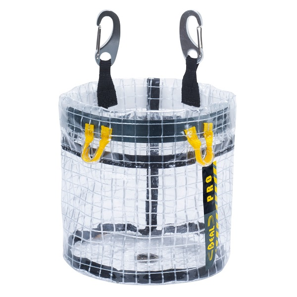 Beal Glass Bucket transparent tool bag | Beal work at height & rope access equipment