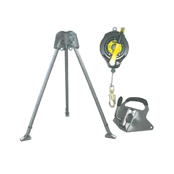 Abtech Safety T3 two-person tripod - kit 1   Work at height & confined space equipment