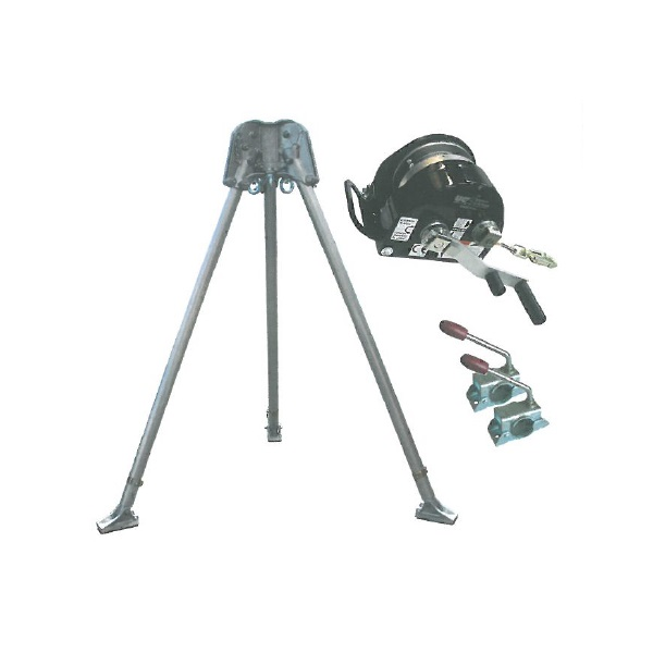 Abtech Safety T3 two-person tripod - kit 3   Work at height & confined space equipment
