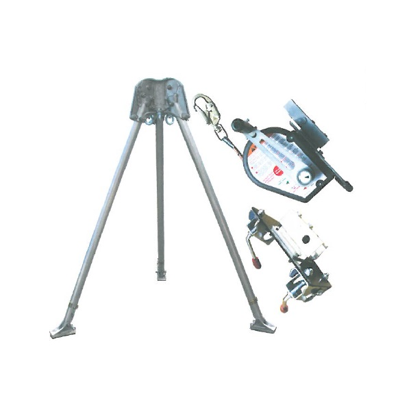 Abtech Safety T3 two-person tripod - kit 5   Work at height & confined space equipment