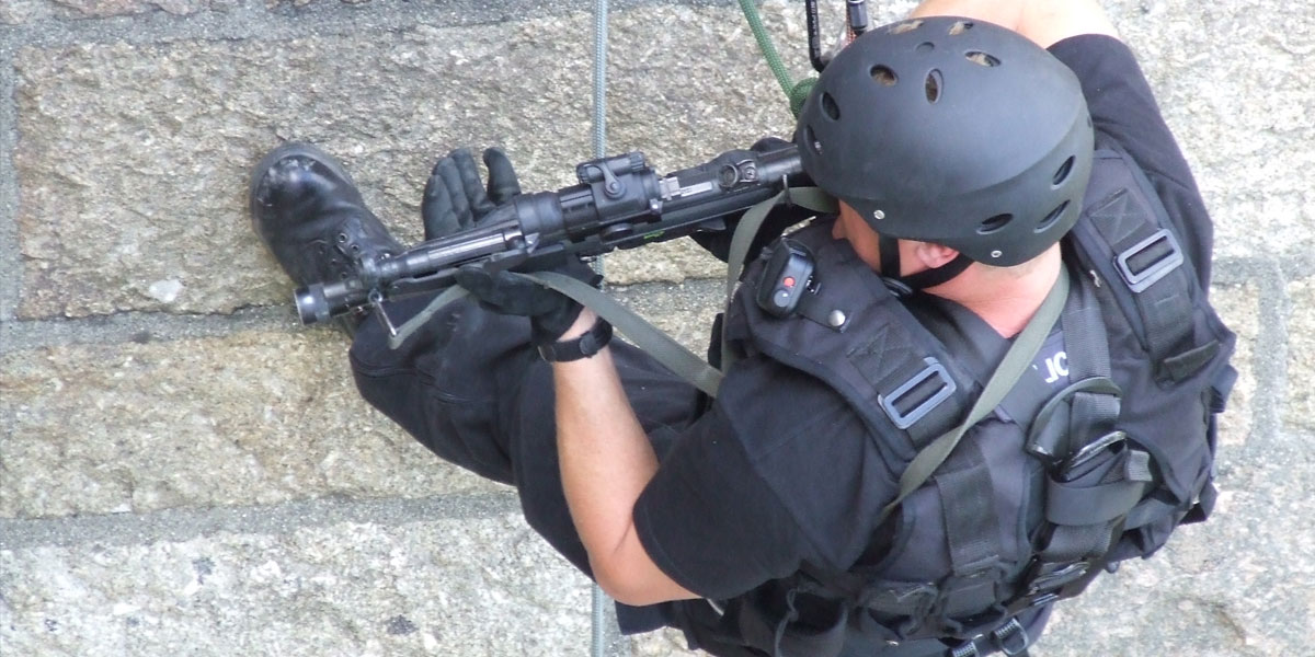 Police training with RIG Systems