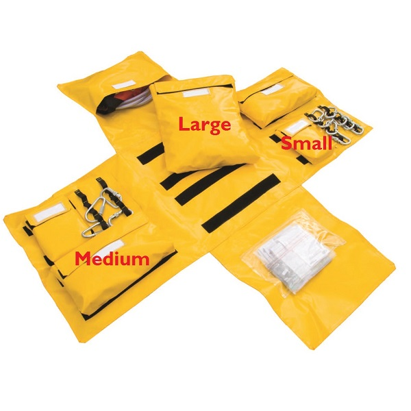 Lyon modular first response bag pocket | Lyon work at height & rope access equipment