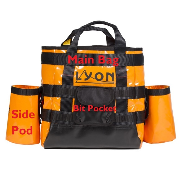 Lyon Route Setter bag | Lyon work at height & rope access equipment