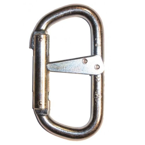 Foin D double action karabiner | Work at height & rope access equipment