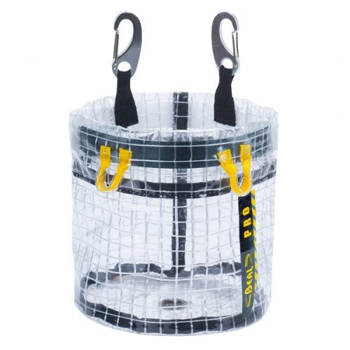 Beal Glass Bucket transparent tool bag   Beal work at height & rope access equipment
