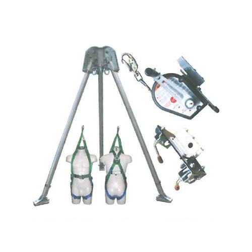 Abtech Safety T3 Two-Person Tripod - Kit 6