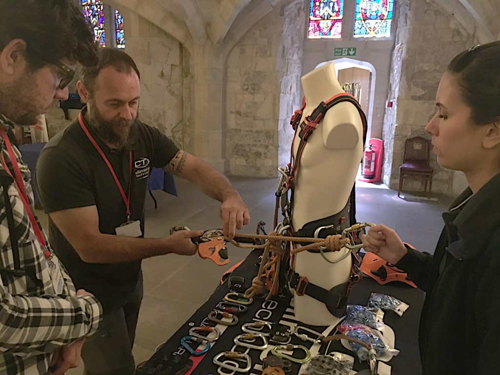RIG-Systems-News-Blog-London-Work-at-Height-Seminar-Guildhall-Sparrow-200R-Demo-Climbing-Technology