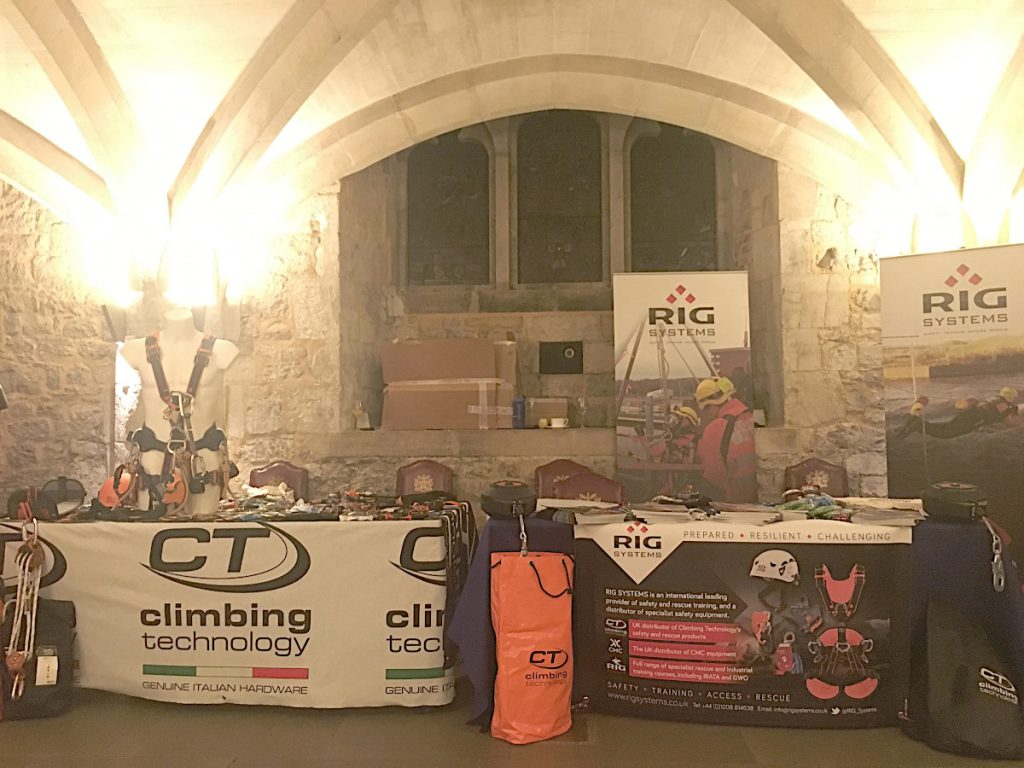 RIG-Systems-News-Blog-London-Work-at-Height-Seminar-Guildhall-Climbing-Technology-Stand